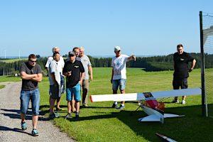 Besuch beim MFC Ikarus Kempten am 11. August 2019